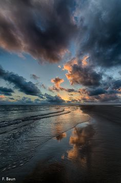 Fanø Beach ~ Denmark by F. Baun on 500px