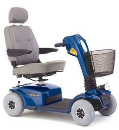 Fantastic Legend four Wheel Mobility Scooter - Viper Blue