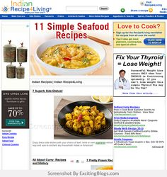 Indian Recipes | Indian Recipe4Living - Click to visit site:  http://1.33x.us/IiFgKm
