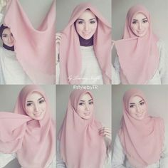 How to wear hijab pashmina Ideas for 2019 Hijab Casual, Hijab Outfit, Hijab Chic, Hijab Dress, Dress Casual, Square Hijab Tutorial, Simple Hijab Tutorial, Hijab Style Tutorial, Islamic Fashion