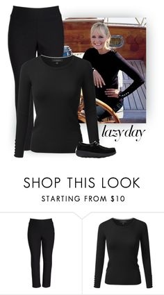 """""""Harbour"""" by patricia-dimmick on Polyvore featuring NIC+ZOE, FitFlop, LazyDay, twiggy and plus size clothing"""