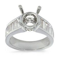 Channel Set Baguette Diamond Ring - 1.00 ctw.
