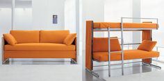 turn your couch into a bunk bed