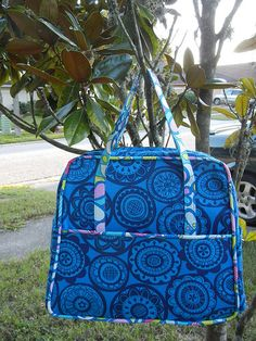 My finished Weekender travel bag!! | I finally managed to fi… | Flickr