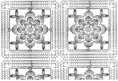 The free crochet rose Afghan pattern may simply remind you to the artworks of your grandmothers some decades ago. Interestingly, this idea is still good to be applied in this modern day. You can apply the pattern for the curtain,… Continue Reading → Crochet Motifs, Crochet Diagram, Crochet Chart, Crochet Squares, Crochet Blanket Patterns, Crochet Doilies, Crochet Flowers, Crochet Stitches, Crochet Brooch
