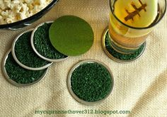 Artificial Turf Coasters
