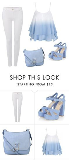 """""""Untitled #120"""" by amrabasic ❤ liked on Polyvore featuring 7 For All Mankind and Nine West"""