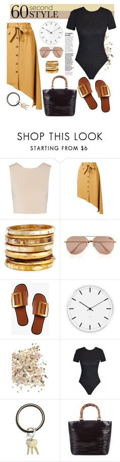 """60 second style"" by bravo1755 ❤ liked on Polyvore featuring Alice + Olivia, Tome, Ashley Pittman, Quay, Boyy, Rosendahl, Topshop, O-Venture and Gucci"