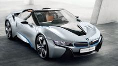 Barely a year after the unveiling of the BMW Concept, BMW i is presenting the second variant of this innovative hybrid sports car: BMW Spyder Luxury Sports Cars, Sport Cars, Bmw I8, Bmw Supercar, Bmw Concept, Bmw Autos, Lamborghini, Nova Bmw, Bmw Hybrid