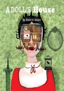 henrik isben a doll house In the play a doll house, by henrik ibsen, the convention of marriage is examined and questioned for its lack of honesty the play is set in the late 1800s, which provides the backdrop for the debate about roles of people in society.
