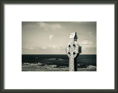 Connemara Celtic Cross Framed Print By Mark Callanan