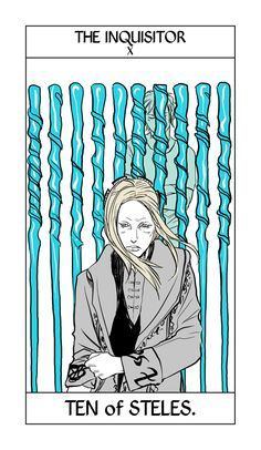 Imogen Herondale, the Inquisitor of the Clave, from Cassandra Jean's Shadowhunter Tarot