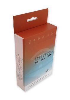 Bedrukte Doos 95x30x137mm met 2 klepjes hangend Container, Packing, Bag Packaging
