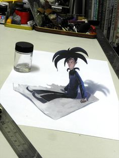 Amazing 3D Drawings – 30 Pics  Awesome