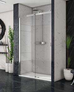 Image Showers. high end shower doors.  shower doors . Made in Ireland Sliding Doors, Garage Doors, Guide System, Power Shower, Door Images, Safety Glass, Shower Doors, Polished Chrome, Showers