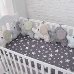 new style baby bed backrest cushion aimal elephant crib bumpers soft infant bed . - Baby Bed , new style baby bed backrest cushion aimal elephant crib bumpers soft infant bed . new style baby bed backrest cushion aimal elephant crib bumpers so. Baby Crib Bumpers, Baby Bumper, Cot Bumper, Baby Bedroom, Baby Room Decor, Nursery Room, Nursery Themes, Quilt Baby, Bed Backrest
