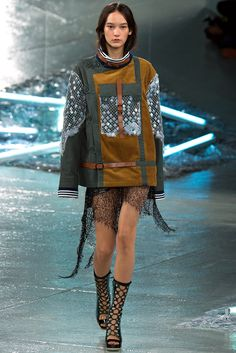 Rodarte Spring 2015 Ready-to-Wear Fashion Show - Mona Matsuoka