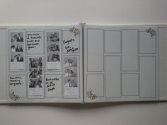 Gold and Silver Photo Booth Guest Book