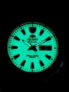 Orient Luminous Dial Mako II Automatic Dive Watch on a Bracelet #CEM75005R