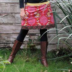 women's yogatop skirt   sizes xs  xl  petal loves by bodhihandmade, $65.00