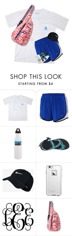 """""""Day Four: Hiking"""" by kat-attack on Polyvore featuring Southern Proper, NIKE, Patagonia, Chaco, LifeProof, Kavu, vbkfashions, vbkprep and csummercontest"""