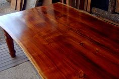 Blackwood colonial reproduction with natural edges by Bowerbird Timber