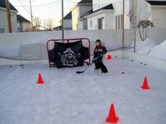 seriously considering make an ice rink in the backyard... sounds a little crazy when I type it out...