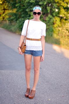 Boho (maybe with longer shorts).