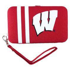Wisconsin Badgers NCAA Shell Wristlet