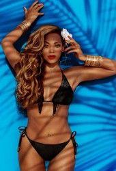 BEYONCE in Bikini for H