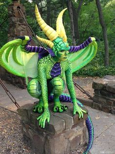 Dragon Costume- this is really neat and love the wings