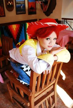Jessie cosplay from Toy Story 3. Now I want to cosplay Jessie! pinning all these cosplay pics was a bad idea...