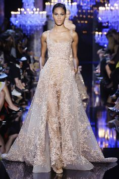 View the Elie Saab Fall 2014 Couture collection. See photos and video of the F2014CTR runway show. Elie Saab