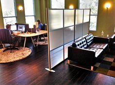 Room Partition with a Cool Vibe at Sundaram Design