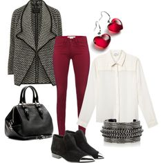 """Fall work outfit"" by triwill on Polyvore Hate the earrings, hate the shoes, LOVE the outfit"
