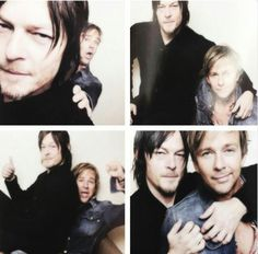 Norman reedus and sean patrick flanery!