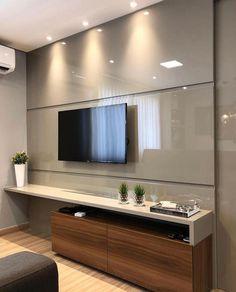 Living room tv wall decor bathroom 23 Ideas for 2019 Tv Unit Decor, Tv Wall Decor, Bathroom Wall Decor, Wall Tv, Bathroom Ideas, Tv Cabinet Design, Tv Wall Design, Room Interior, Home Interior Design