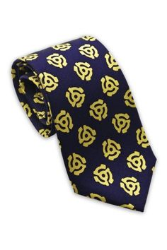 Josh Bach Mens 45 Adapter Music Silk Necktie Blue Made in USA -- Check out this great product.