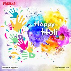 Holi is a reminder to all of us that life is much better with all kinds of colours in it! Fatakka wishes you a vibrant, crazy and #HappyHoli!