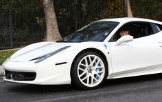 Justin Bieber cruising in his Ferrari 458 Italia #jealous