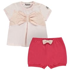 MONCLER Baby Girls Top And Shorts - Jakss