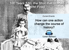 100 yrs ago, Archduke Franz Ferdinand became the 1st war casualty. Learn why: http://www.listenedition.com/2014/07/01/100-years-ago-the-shot-that-started-wwi-fired/