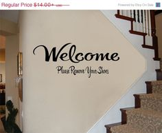 Vacation Sale Welcome Please Remove Your by RoyceLaneCreations