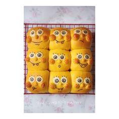 Sponge baby squeeze bread practice steps 12