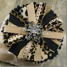 Fabric hair bows to-do