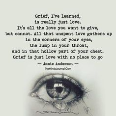 Is Love That's why 5 years later I'm still in grief. No where for the love to go.That's why 5 years later I'm still in grief. No where for the love to go. Now Quotes, Great Quotes, Inspirational Quotes, Wall Quotes, Quotes On Loss, Quotes For Dad, Im Lost Quotes, In Memory Quotes, Missing Dad Quotes