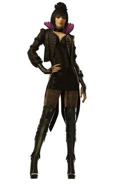 Eliza Cassan concept from Deus Ex Human Revolution - This concept helps me think of what people might wear in high society.