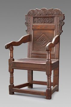 Wainscot Armchair Museum Of Fine Arts Boston Ani Telemi Tudor Elizabethan And Jacobean Furniture Style