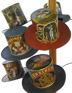 """Collection of """"Ceremonial Parade Fire Hats""""   @ Sotheby's"""