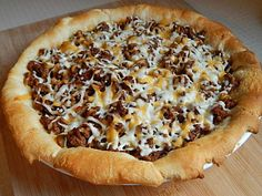 Easy taco pie by drizzle me skinny